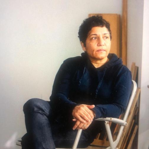 Huma Bhabha Eva Deitch for The New York Times, 2020