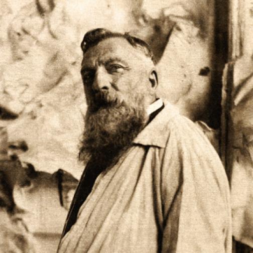 Portrett av Auguste Rodin